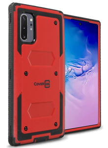 Samsung Galaxy Note 10 Plus / Galaxy Note 10 Plus 5G Case - Heavy Duty Shockproof Phone Cover - Tank Series