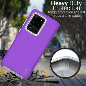 Samsung Galaxy S20 Ultra Case Protective Hybrid Phone Cover - Rugged Series