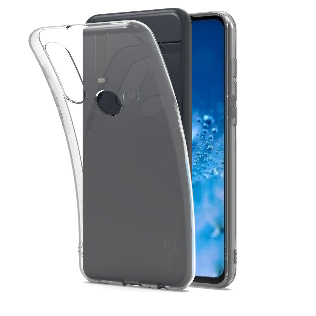 Motorola Moto G8 Case - Slim TPU Rubber Phone Cover - FlexGuard Series