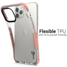 Load image into Gallery viewer, iPhone 11 Pro Clear Case - Protective TPU Rubber Phone Cover - Collider Series