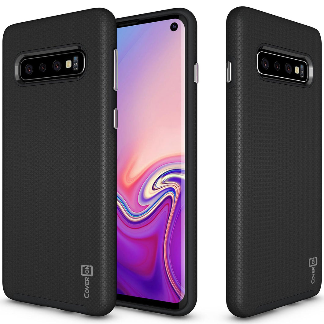 Samsung Galaxy S10 Case - Slim Protective Hybrid Phone Cover - Rugged Series