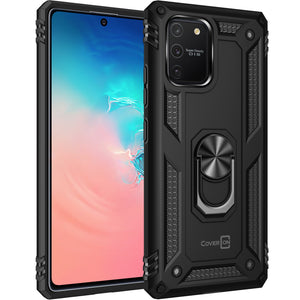 Samsung Galaxy S10 Lite / Galaxy A91 Case with Metal Ring - Resistor Series