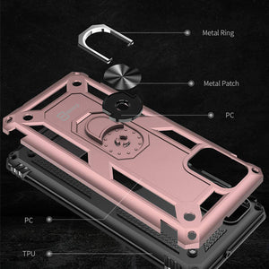 Samsung Galaxy A51 Case / Galaxy A51 5G Case with Metal Ring - Resistor Series