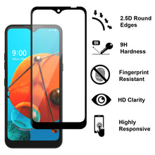 Load image into Gallery viewer, LG K51 / Reflect Case - Clear Tinted Metal Ring Phone Cover - Dynamic Series