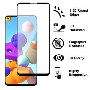 Samsung Galaxy A21s Case - Slim TPU Silicone Phone Cover - FlexGuard Series