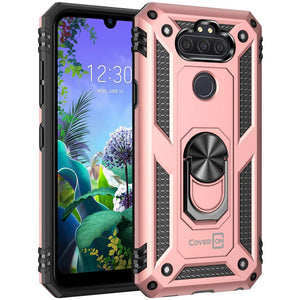 LG Aristo 5 / Aristo 5+ Plus Case with Metal Ring - Resistor Series
