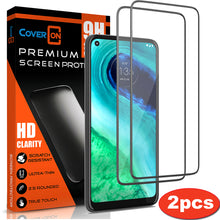Load image into Gallery viewer, Motorola Moto G Fast Tempered Glass Screen Protector - InvisiGuard Series (1-3 Pack)