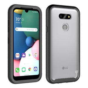 LG Aristo 5 / Aristo 5+ Plus Case - Heavy Duty Shockproof Clear Phone Cover - EOS Series
