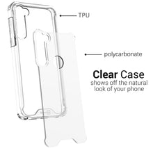 Load image into Gallery viewer, Motorola Moto G Stylus Clear Case Hard Slim Protective Phone Cover - Pure View Series
