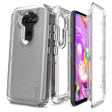 Load image into Gallery viewer, LG Phoenix 5 / Fortune 3 Clear Case - Full Body Tough Military Grade Shockproof Phone Cover