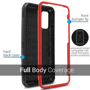 Samsung Galaxy S20 Case - Heavy Duty Shockproof Phone Cover - Tank Series