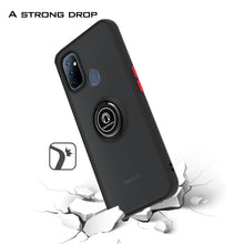 Load image into Gallery viewer, OnePlus Nord N100 Case - Clear Tinted Metal Ring Phone Cover - Dynamic Series