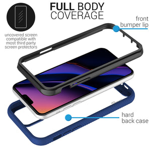 iPhone 11 Pro Max Case - Heavy Duty Shockproof Clear Phone Cover - EOS Series