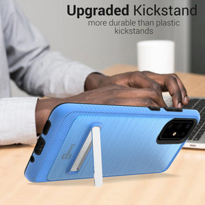 Samsung Galaxy S20 Plus Case - Metal Kickstand Hybrid Phone Cover - SleekStand Series