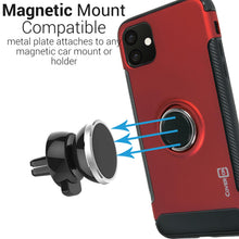 Load image into Gallery viewer, iPhone 11 Ring Case - Magnetic Car Mount Compatible - Magna Series