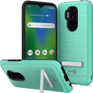 Samsung Galaxy A30 / Galaxy A20 Card Case with Metal Plate - Metal Series