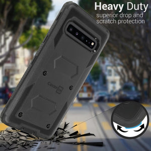 Samsung Galaxy S10 5G Case - Heavy Duty Shockproof Phone Cover - Tank Series