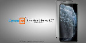 iPhone 11 Tempered Glass Screen Protector - InvisiGuard 2.0 Series