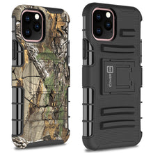 Load image into Gallery viewer, iPhone 11 Pro Max Holster Case - Hybrid Case with Belt Clip - Explorer Series