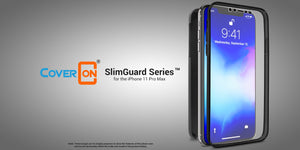 iPhone 11 Pro Max Full Body Case with Screen Protector - SlimGuard Series