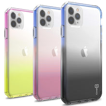 Load image into Gallery viewer, iPhone 11 Pro Max Clear Case - Full Body Colorful Phone Cover - Gradient Series