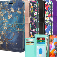 Load image into Gallery viewer, LG Q70 Wallet Case - RFID Blocking Leather Folio Phone Pouch - CarryALL Series