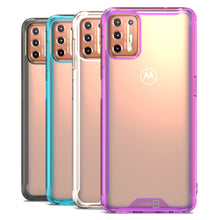 Load image into Gallery viewer, Motorola Moto G9 Plus Clear Case Hard Slim Protective Phone Cover - Pure View Series