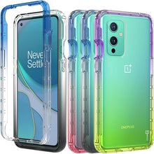 Load image into Gallery viewer, OnePlus 9 Clear Case Full Body Colorful Phone Cover - Gradient Series