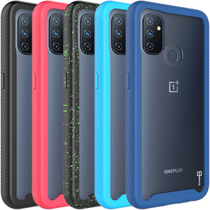 OnePlus Nord N100 Case - Heavy Duty Shockproof Clear Phone Cover - EOS Series