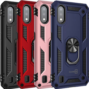 Samsung Galaxy A01 (US Verison) Case with Metal Ring - Resistor Series