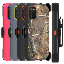 Load image into Gallery viewer, Samsung Galaxy A02s Holster Case - Heavy Duty Shockproof Case with Belt Clip
