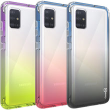 Load image into Gallery viewer, Samsung Galaxy A71 5G UW Clear Case Full Body Colorful Phone Cover - Gradient Series
