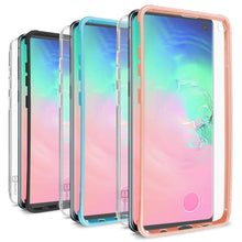 Load image into Gallery viewer, Samsung Galaxy S10 Case with Built-In Screen Protector – Slim Fit Full Body Phone Cover