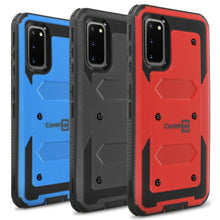 Load image into Gallery viewer, Samsung Galaxy S20 Case - Heavy Duty Shockproof Phone Cover - Tank Series