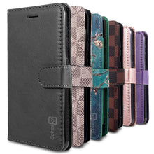 Load image into Gallery viewer, Samsung Galaxy S20 Wallet Case - RFID Blocking Leather Folio Phone Pouch - CarryALL Series