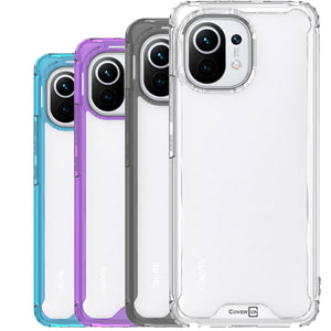 XiaoMi Mi 11 Clear Case Hard Slim Protective Phone Cover - Pure View Series