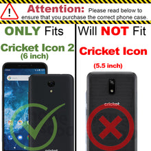 Load image into Gallery viewer, Cricket Icon 2 Case - Slim TPU Silicone Phone Cover - FlexGuard Series