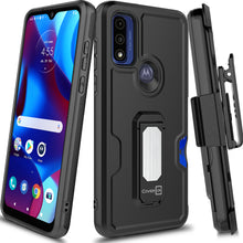 Load image into Gallery viewer, Samsung Galaxy A51 5G Holster Case - Hybrid Case with Belt Clip - Explorer Series