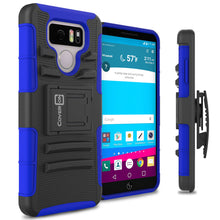 Load image into Gallery viewer, LG G6 / G6 Plus Holster Case - Hybrid Case with Belt Clip - Explorer Series