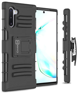Samsung Galaxy Note 10 Holster Case - Hybrid Case with Belt Clip - Explorer Series