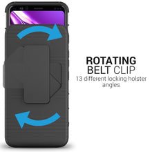 Load image into Gallery viewer, Google Pixel 4 Holster Case - Hybrid Case with Belt Clip - Explorer Series