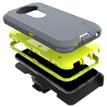 Load image into Gallery viewer, LG Phoenix 5 / Fortune 3 Holster Case - Heavy Duty Shockproof Case with Belt Clip