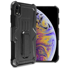 Load image into Gallery viewer, iPhone XR Holster Case Spectra Series Protective Kickstand Phone Cover with Rotating Belt Clip