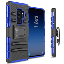 Load image into Gallery viewer, Samsung Galaxy S9 Plus Holster Case - Hybrid Case with Belt Clip - Explorer Series