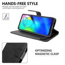 Load image into Gallery viewer, Motorola Moto E (2020) Wallet Case - RFID Blocking Leather Folio Phone Pouch - CarryALL Series