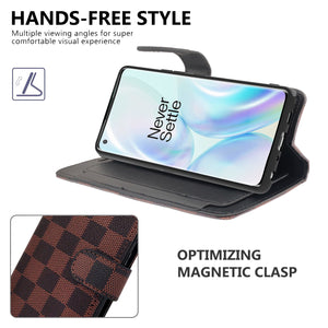 OnePlus 8 Pro Wallet Case - RFID Blocking Leather Folio Phone Pouch - CarryALL Series