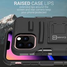 Load image into Gallery viewer, iPhone 11 Pro Holster Case - Hybrid Case with Belt Clip - Explorer Series