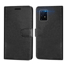 Load image into Gallery viewer, Samsung Galaxy S10 Lite / Galaxy A91 Wallet Case - RFID Blocking Leather Folio Phone Pouch - CarryALL Series