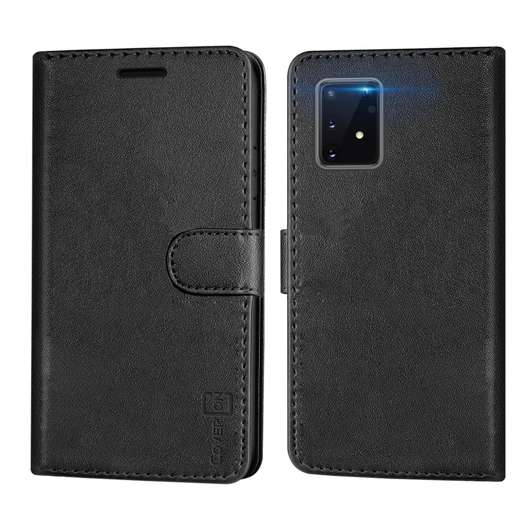 Samsung Galaxy S10 Lite / Galaxy A91 Wallet Case - RFID Blocking Leather Folio Phone Pouch - CarryALL Series
