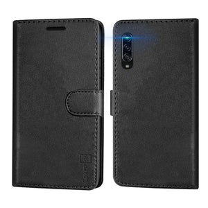 Samsung Galaxy A90 5G Wallet Case - RFID Blocking Leather Folio Phone Pouch - CarryALL Series